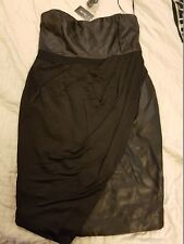 City Chic black dress 'Super Sexy'  Size XS (14) BNWT
