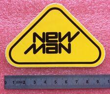 Autocollant NEW MAN JEANS Jeannerie Jean's Vêtements Vintage Année 70/80