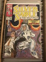 SILVER SABLE AND WILD PACK #2 STEVEN BUTLER DAN PANOSIAN 1992 marvel spider-man
