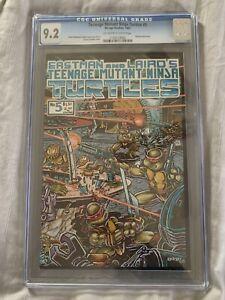 TEENAGE MUTANT NINJA TURTLES #5 Mirage 1985 1st Printing FUGITOID Begins CGC 9.2