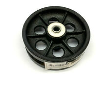 1nwb9 Industrial Grade 6 Caster Wheel V Groove 6in 1000 Lb 2 Wide 12 Bore