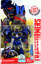 Transformers Warrior Class ~ Decepticon Soundwave Figure ~ Robots in Disguise