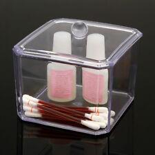 Plastique Boîte de rangement pour coton Coussin Écouvillon perle boule