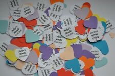HEN MENDHI ENGAGEMENT CELEBRATION TABLE CONFETTI all PERSONALISED own details