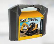 Tracked Excavator JCB Construction Set 359 Piece Steel Model Kit - Digger