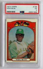 1972 Topps Vida Blue #169 (PSA 5 EX) Baseball Card A2713