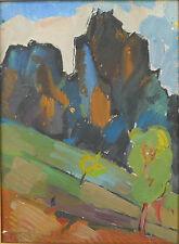 Armenian Art gallery,SEIRAN KHATLAMDJIAN,1963 Painting,Armenia Landscape,Armenie