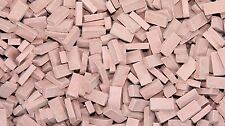 1/35 Scale Bricks Medium Red (approx 2000)