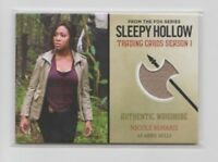 CRYPTOZOIC SLEEPY HOLLOW SEASON 1 Costume Trading Card Nicole Beharie #M11