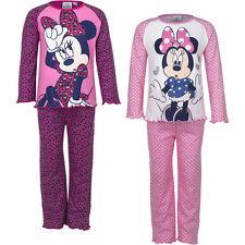 NEU Pyjama Set Schlafanzug Mädchen Minnie Mouse pink rosa Gr. 98 104 116 128 #97