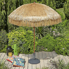 BEAUTIFUL Hawaiian Style Parasol Tiki Straw Outdoor Patio Garden Sun Umbrella