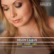 Helen Callus : Helen Callus: Bach/Krebs/Abel CD (2015) ***NEW***
