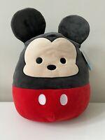 """Disney MICKEY MOUSE SQUISHMALLOW Plush Rare Kelly Toys 14"""" *NEW* NWT 2020"""
