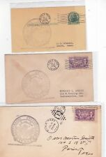 "#776 Eagle Pass TEXAS Centennial 3 Covers 7/4/1936 ""Applied at Old Fort Duncan"""