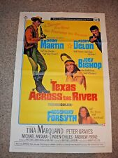 Vintage MOVIE POSTER 1966 Four For Texas-Dean Martin-3 Stooges