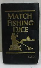 POCKET MATCH FISHING DICE Game – NEW