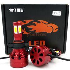 540W 54000LM 4-Sided LED Fog Lights Kit 5202 9009 PSX24W 6000K HID White Bulbs