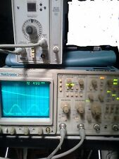 Tektronix 2465A 350MHz Oscilloscope EXCELLENT 1608 hours on the clock Very Rare!