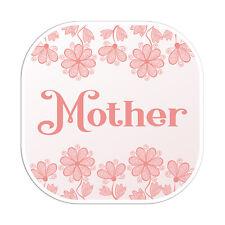 2 x 10cm Pink Mother Mum Vinyl Stickers - Travel Sticker Laptop Luggage #23124