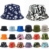 Unisex Floral Camo Boonie Hunting Hiking Fishing Outdoor Cap Summer Bucket Hats