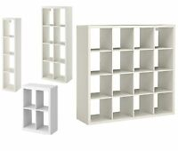 Ikea Kallax display unit Shelf Storage Bookcase or Shelving W/ Drona Box Insert