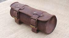 Tool Bag, Werkzeugrolle, Lenkerrolle, Leder, Harley Davidson, Chopper, NEU