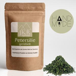 500g | Petersilie | gerebelt | Gewürz | feinste Kräuter | 100% rein | JKR Spices