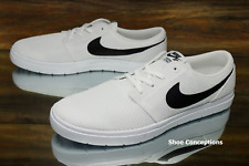 Nike SB Portmore II Ultralight White Black 880271-106 Men's Shoes - Multi Size