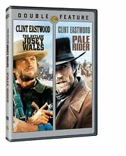 The Outlaw Josey Wales/Pale Rider (DVD, 2014, 2-Disc Set) Clint Eastwood NEW