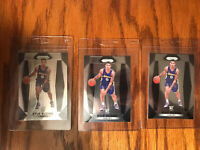 Kyle Kuzma Panini Prizm Rookie Lot Of 3, PSA Ready