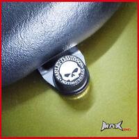 Willie skull logo emblem seat bolt Harley Davidson 1992 Dyna Glide Custom - FXDC