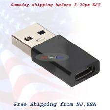 USB 3.1 Type C Female to USB 3.0 Type A Male Adapter Converter Connector