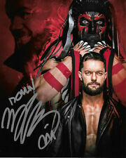 WWE FINN BALOR HAND SIGNED AUTOGRAPHED 8X10 PHOTO INSCRIBED WITH PROOF AND COA 3