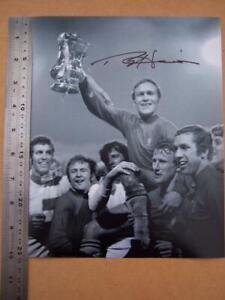 Football  Ron Harris   Chelsea     Autograph (file CHJ)