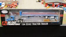 DCP #30618 PORTER PIPE SUPPLY CO IH 9200 SEMI CAB TRUCK& FLAT BED TRAILER 1:64/