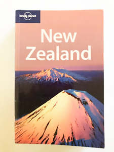 New Zealand Book Lonely Planet Travel Guide Traveling Lifestyle Hobby