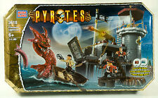 MEGA BLOKS PYRATES PRIVATEERS LIGHTHOUSE #3618 PIRATES NEW SEALED BOX