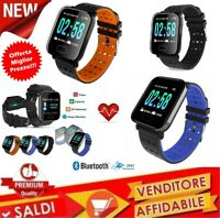 Smart Watch Multifunzione, Smart Bracelet A6 Schermo da 1,3 Pollici Monitoraggio