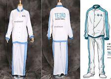 Ta-12 Kuroko 's baloncesto Teiko uniforme escolar chaqueta pantalón entrenamiento-traje cosplay