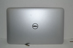 """Genuine Dell XPS L322x 13"""" ADAMO 13 Silver Laptop LCD Top Back Cover Lid 0001X"""