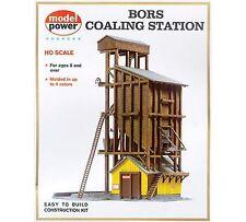 MODEL POWER HO SCALE BUILDING KIT - Bors Coaling Station - NEW 410