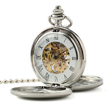 Pocket Watch Vintage Retro Pwm008 Automatic Mechanical 1920's Peaky Blinders