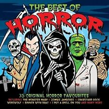 The Best Of Horror - 75 Original Horror Favourites 3CD 2014 NEW/SEALED