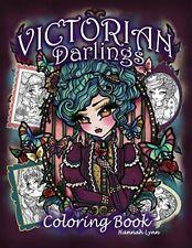 Victorian Darlings Coloring Book by Lynn, Hannah -Paperback