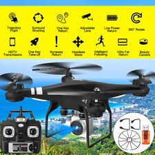 2021 RC Drone 4k HD Wide Angle Camera WiFi FPV Drone Dual Camera Quadcopter