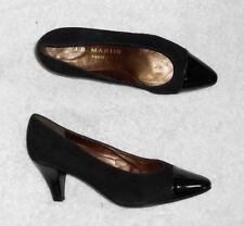 JB MARTIN escarpins cuir verni   daim noir P 38½ (5½) neufs 7a7884b4385b