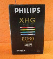 New Philips XHG EC-30 VHSC, Japan, Video Camcorder Tape