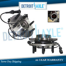 Set of (2) New FRONT Left & Right Wheel Hub Bearing for Ford Expedition ABS 2WD