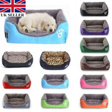 UK2020 pet dog cat bed puppy cushion house soft warm kennel mat blanket washable