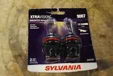 Headlight Bulb-XtraVision Blister Pack Twin Headlight Bulb Sylvania 9007XV.BP2